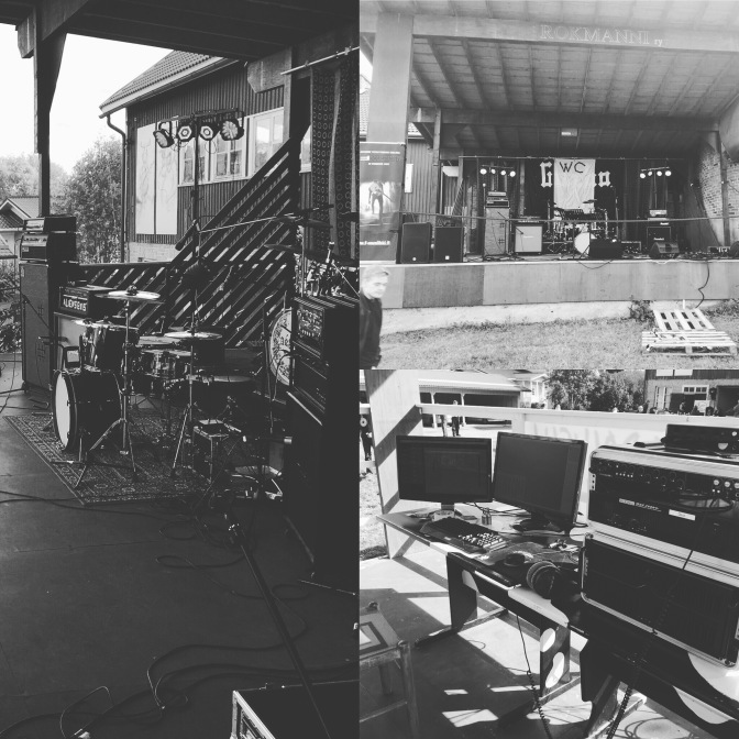 Mannin Navetan Open Air 2016 – Behind the scenes